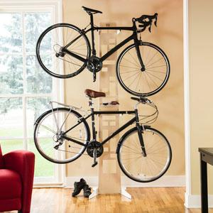 Amazon.com : Saris The Hottie Two Bike Home Storage, White