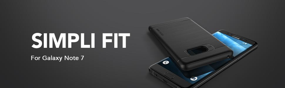 Galaxy Note 7 Case, VRS Design Simpli Fit Series