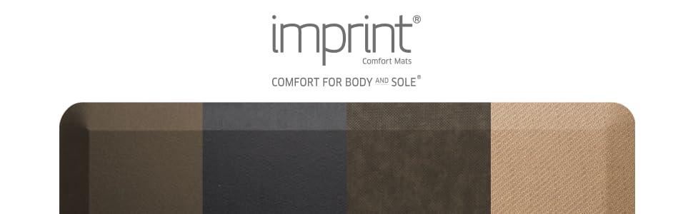 cumuluspro, imprint mats, imprint comfort mats, anti fatigue, floor mat, stand up desk mat, mat