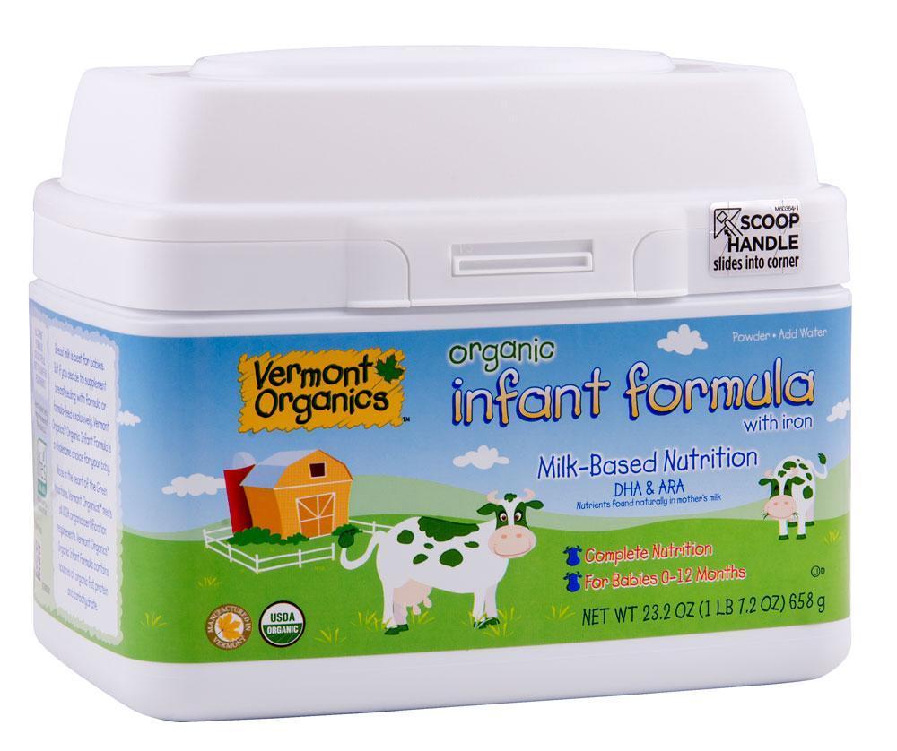 Amazon Com Vermont Organics Milk Based Organic Infant