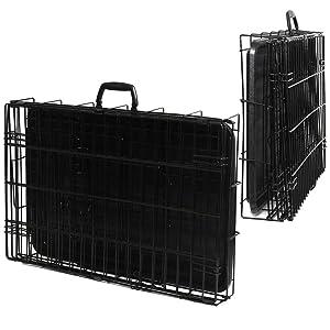 Amazon Com Paws Amp Pals 48 Quot Xxl Dog Crate Double Door