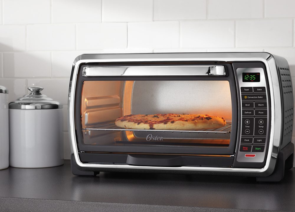 Oster Large Countertop Convection Oven Black : : Oster Large Capacity Countertop 6-Slice Digital Convection Toaster ...