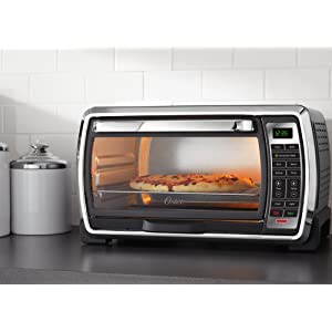 Oster Countertop Convection Oven Tssttvf816 : Oster Large Capacity Countertop 6-Slice Digital Convection Toaster ...