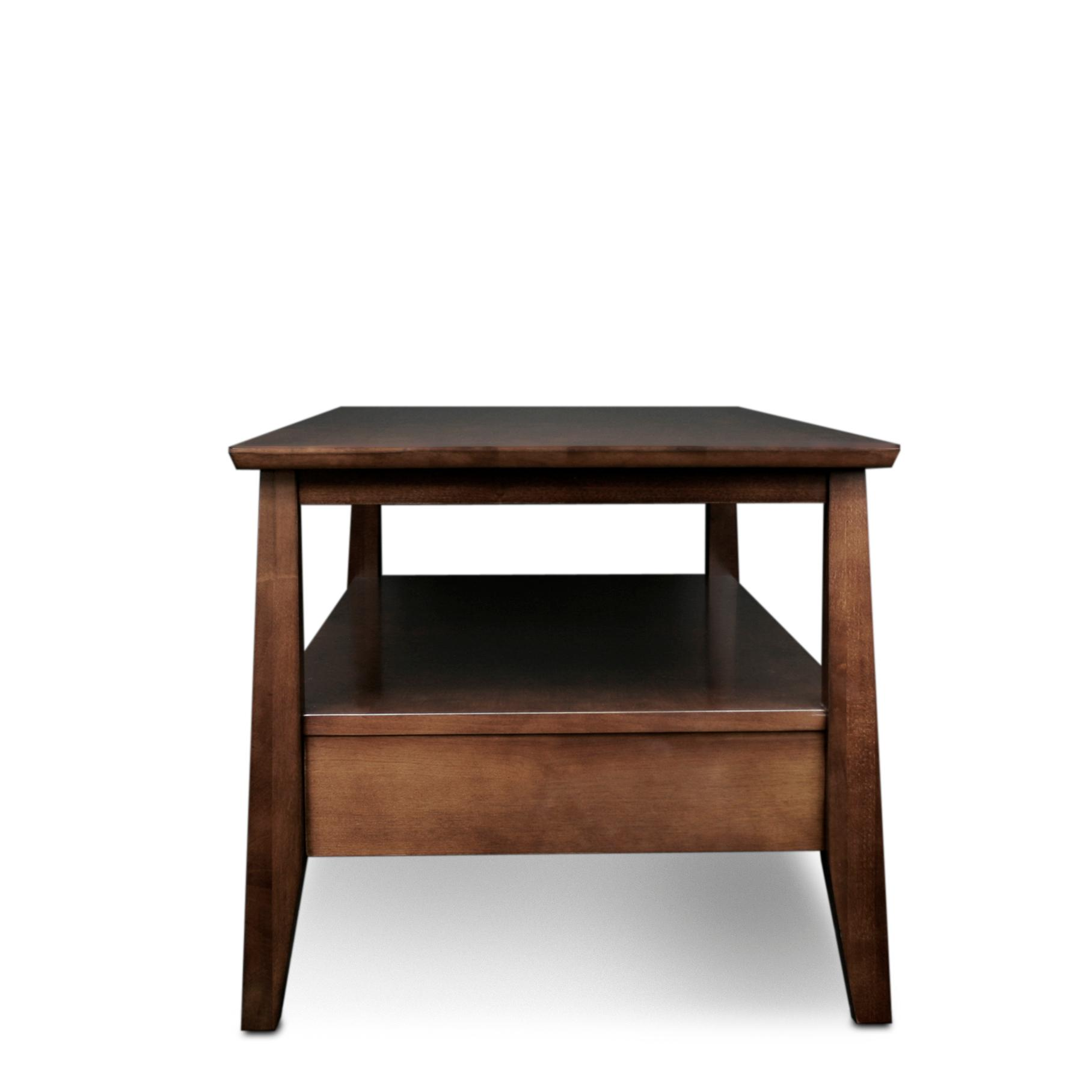 Amazon.com: Leick Delton Two Drawer Coffee Table: Kitchen
