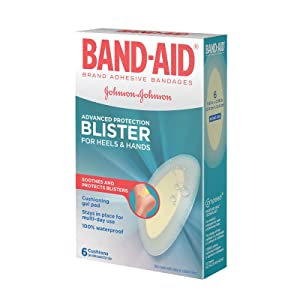 BAND-AID Brand BLISTER GEL GUARD ACTIV-FLEX Bandages