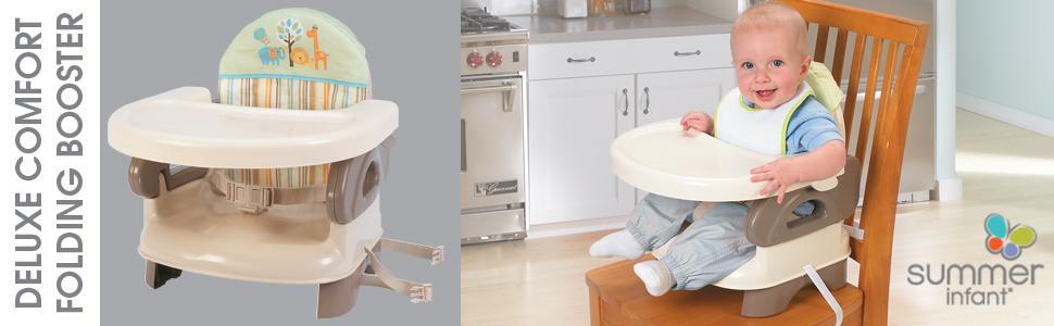 Amazon Com Summer Infant Deluxe Comfort Folding Booster