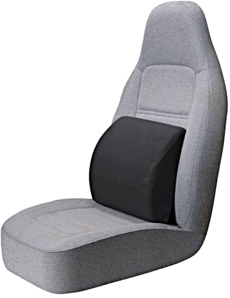 portable lumbar seat cushion black automotive. Black Bedroom Furniture Sets. Home Design Ideas
