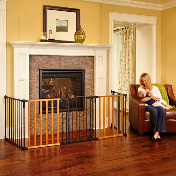 Fireplace gate; baby safety gate; extra-wide safety gate; barrier - Amazon.com : North States Supergate Home And Hearth Gate