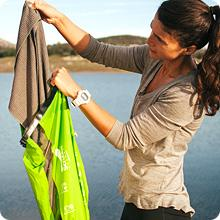 Scrubba Wash Bag is fast and easy.