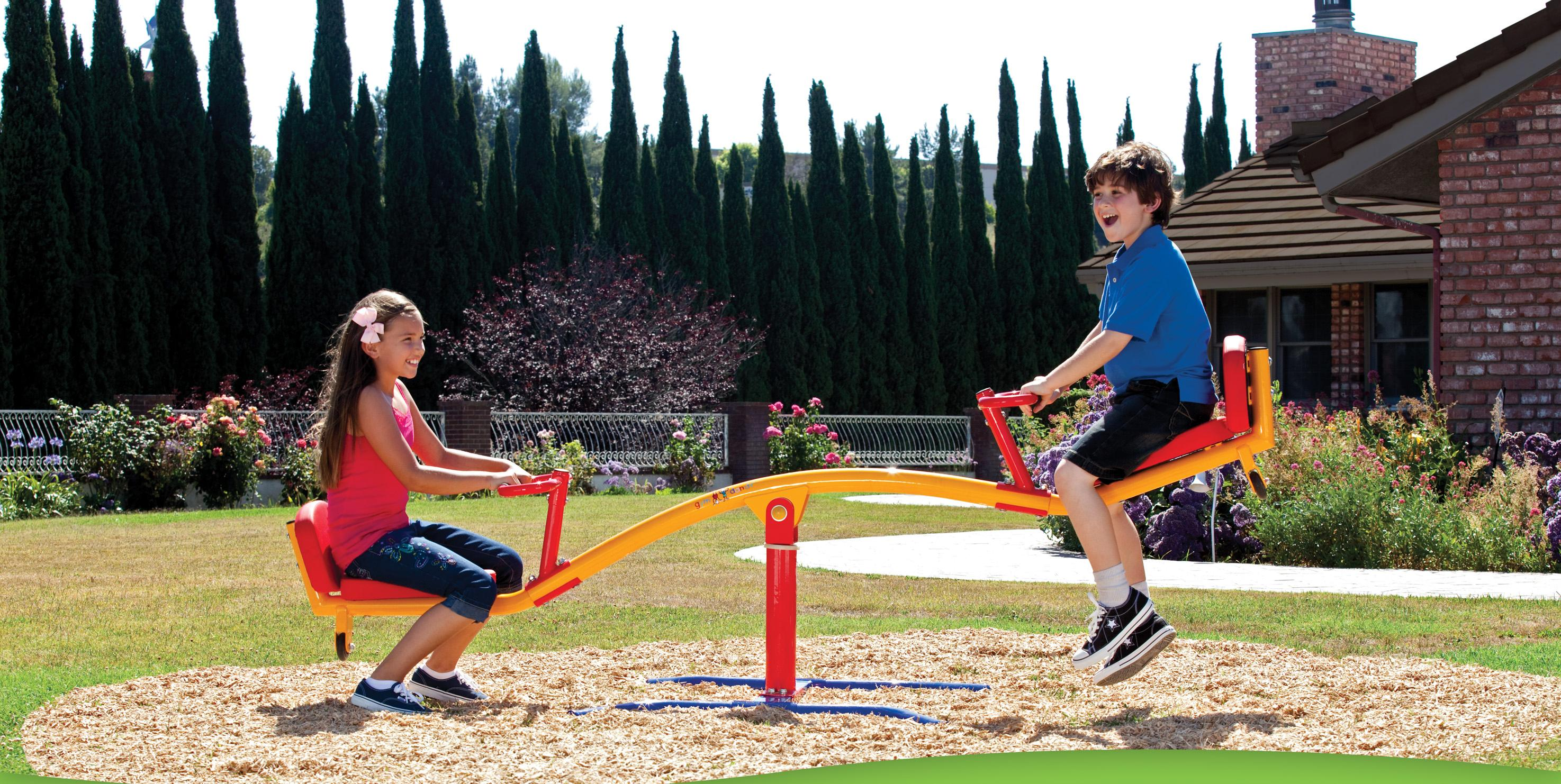 Amazon Gym Dandy Spinning Teeter Totter Impact Absorbing