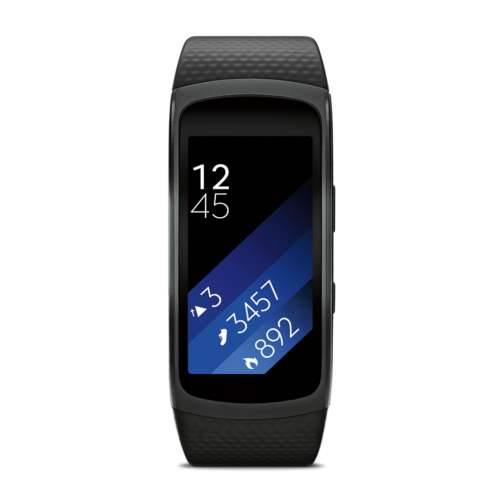 ORIGINAL New Samsung SM-R360 Gear Fit 2 Smartwatch with ...