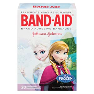 BAND-AID Brand Adhesive Bandages featuring Frozen Assorted