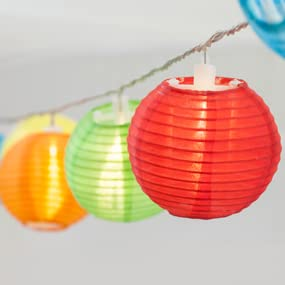 Attractive Multi Colored Lights, Nylon Lanterns, Chinese Lanterns, Patio Lights, Gifts  For