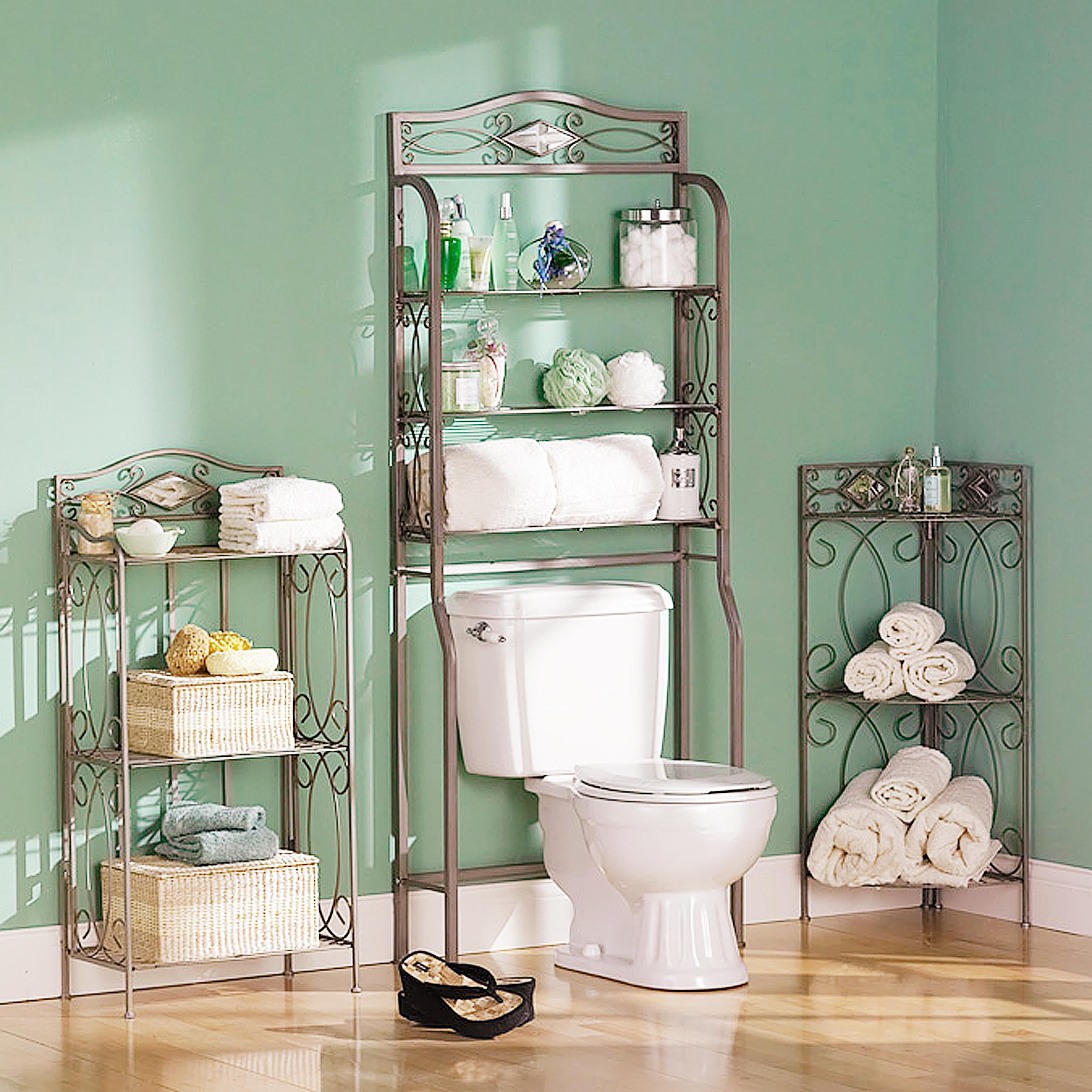 Southern enterprises reflections 3 tier corner for Bathroom ideas amazon