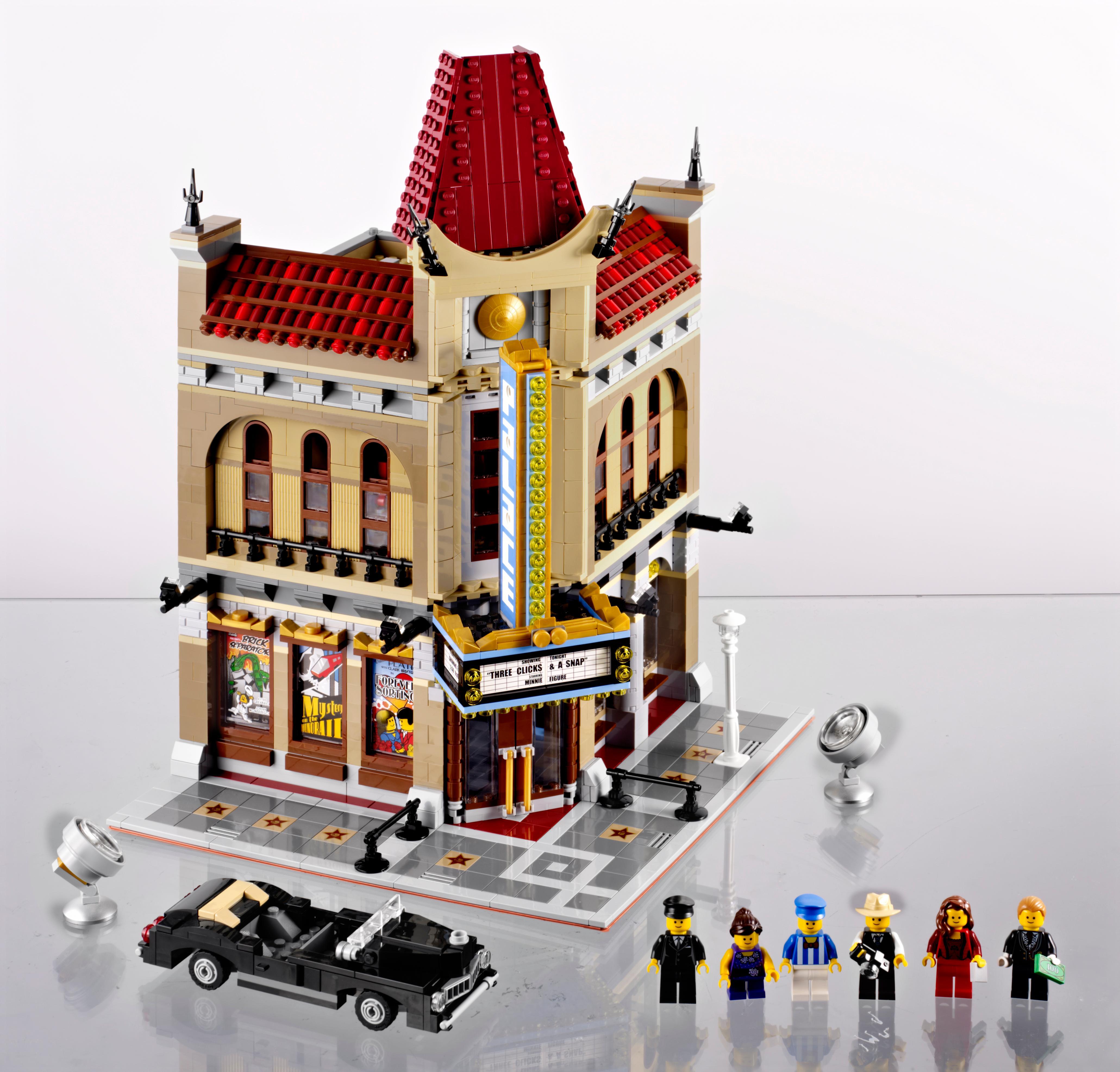 new lego creator 10232 palace cinema ebay. Black Bedroom Furniture Sets. Home Design Ideas