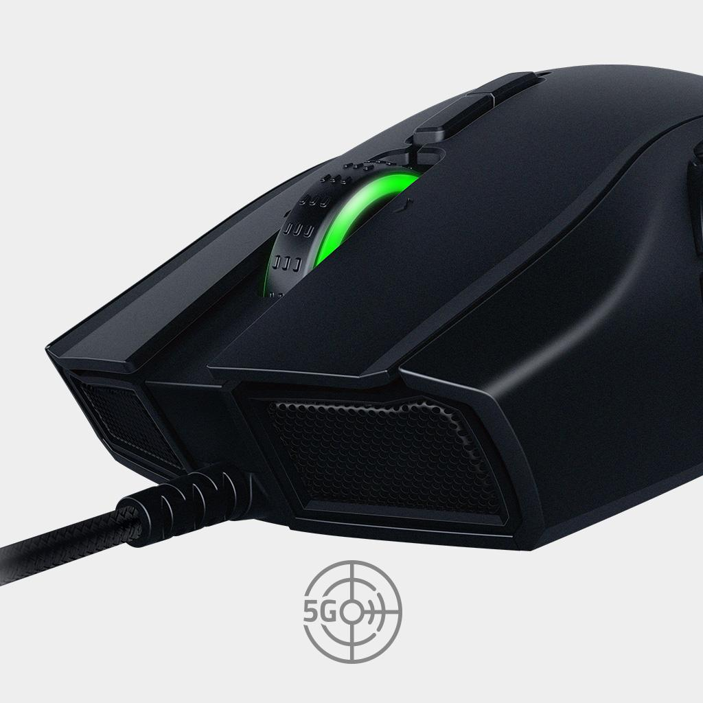 Amazon.com: Razer Naga Hex V2 MOBA Gaming Mouse - 7 Button Mechanical