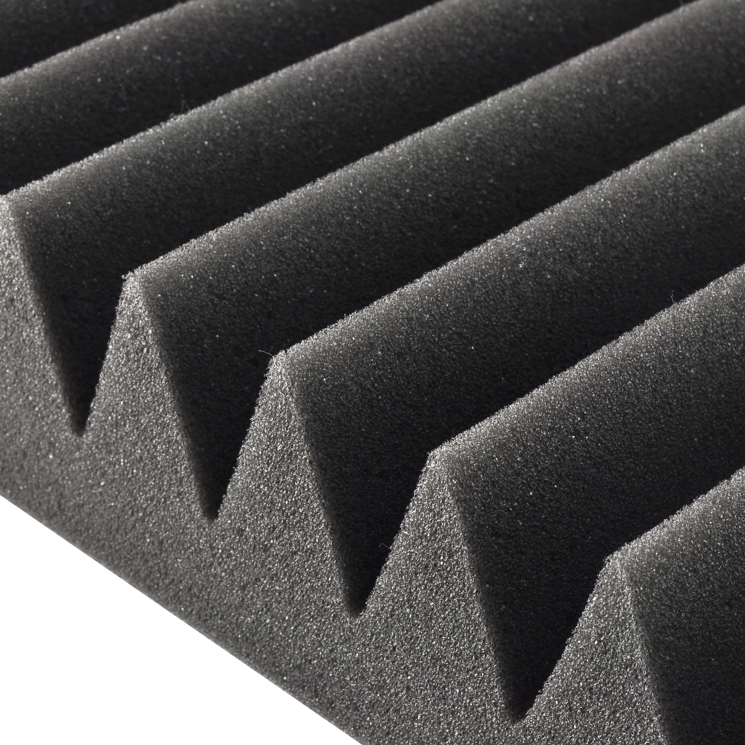 Pyle 24 pack acoustic studio soundproofing for Soundproof foam