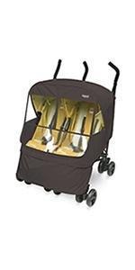 Elegance Alpha Twin Stroller Weather Shield