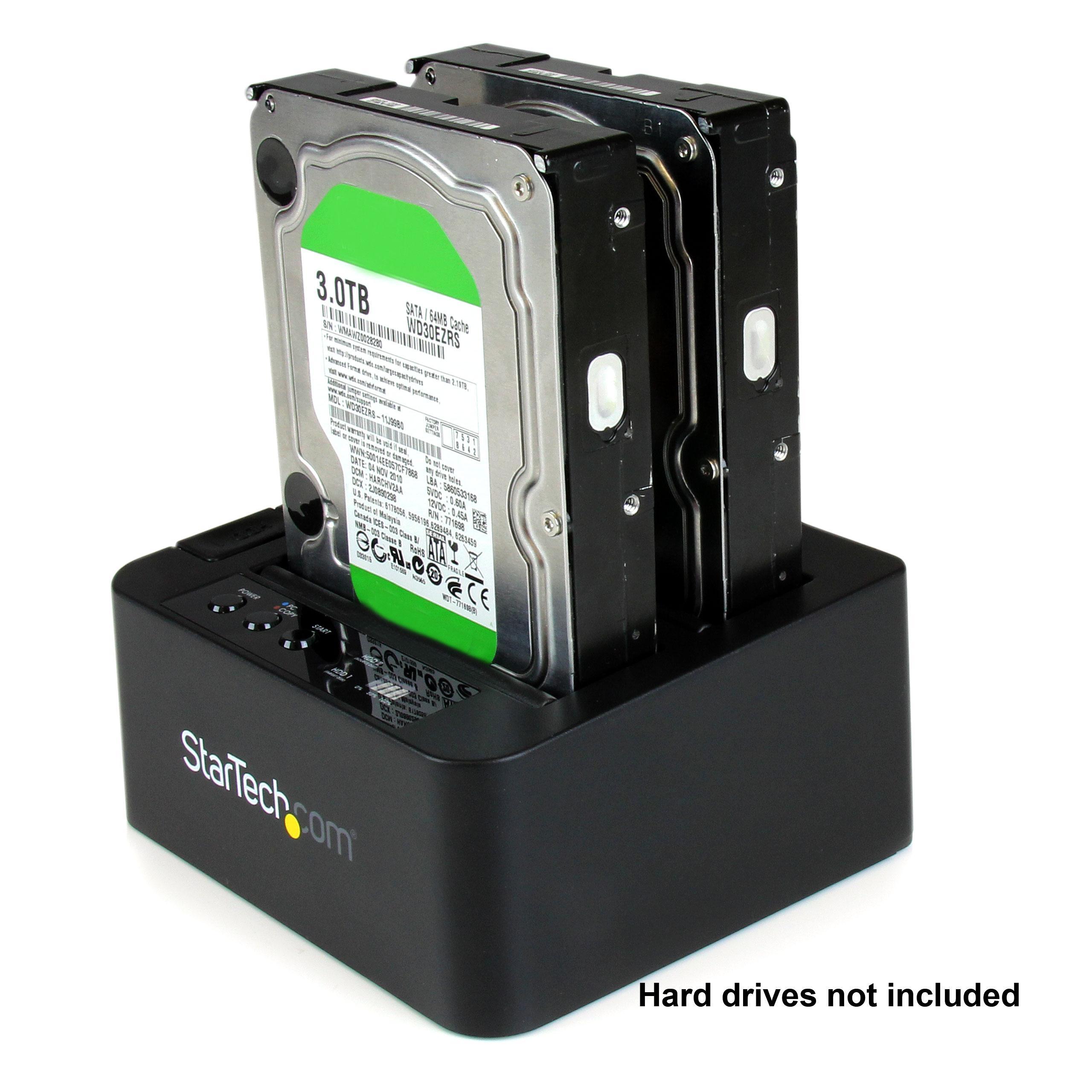 Amazon.com: StarTech.com SATA Hard Drive HDD Duplicator Dock - eSATA USB Hard Disk Drive