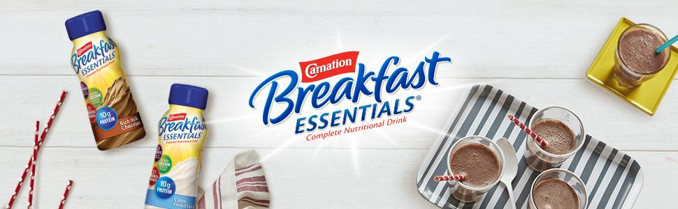 Amazon.com : Carnation Breakfast Essentials Ready to Drink, Chocolate
