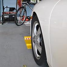 parking mat, parking guide, tire mat, tire nest, easy stick parking mat, B000CEE62W, garage saver