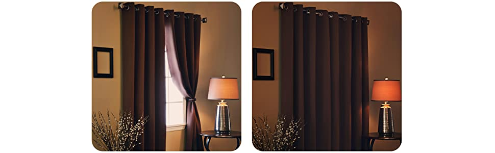Best Home Fashion Wide Width Thermal Insulated