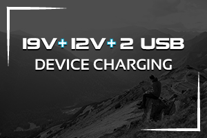 XP-10 Micro-Start, Charge Multiple Devices, 19-Volt 12-Volt and 5V USB Ports