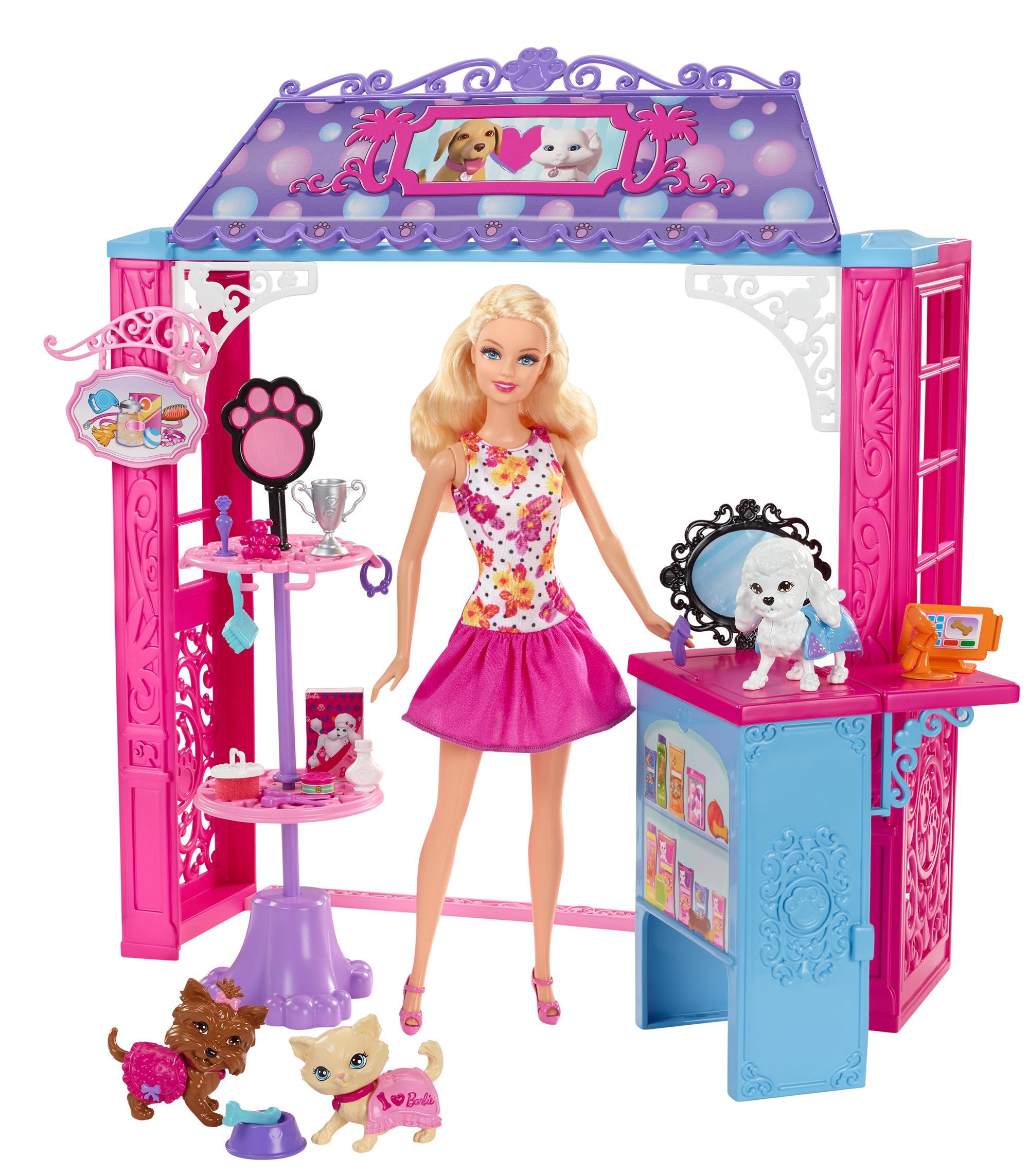 Amazon Com Barbie Life In The Dreamhouse Pet Boutique And
