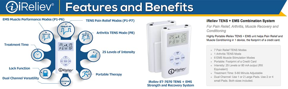 What is iReliev EMS?