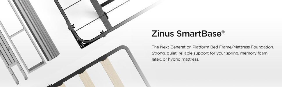 Amazon Com Zinus Casey 18 Inch Premium Smartbase Mattress