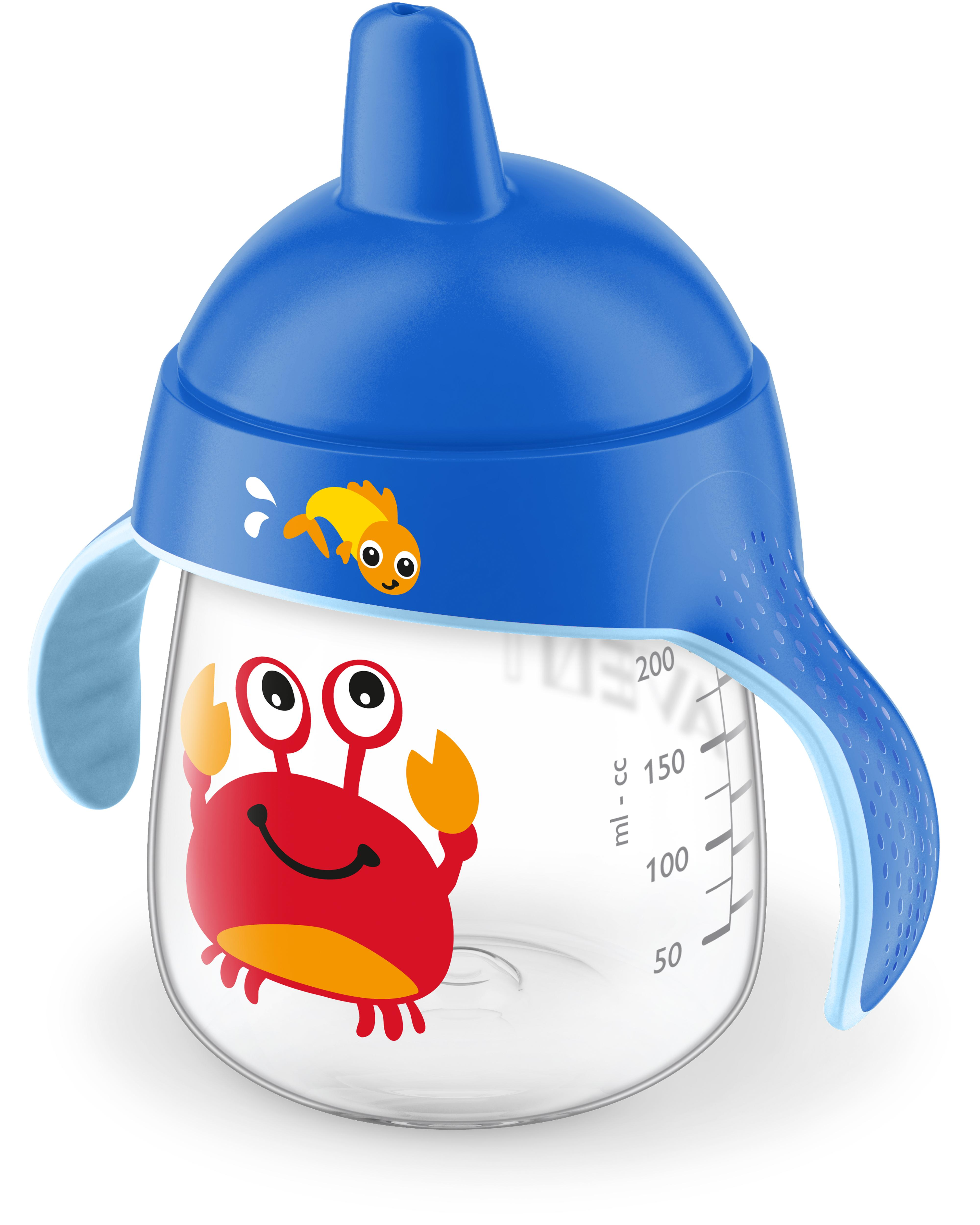 Amazon Com Philips Avent My Little Sippy Cup Crab Baby