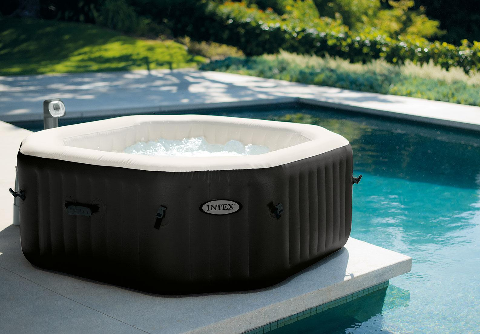 Amazon Com Intex Purespa Jet Amp Bubble Deluxe Portable