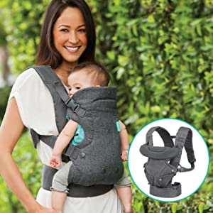 Amazon.com   Infantino Flip 4-in-1 Convertible Carrier   Baby e1195c92e91