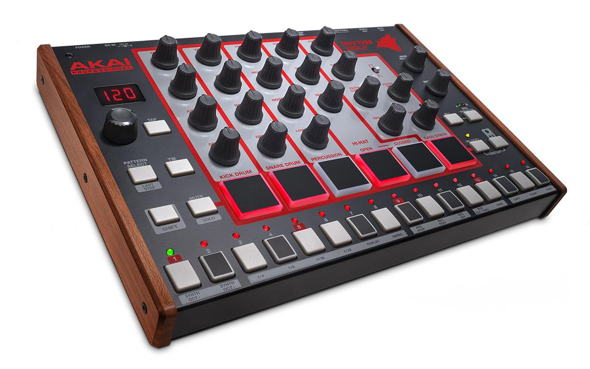 akai professional rhythm wolf true analog drum machine and bass synthesizer. Black Bedroom Furniture Sets. Home Design Ideas
