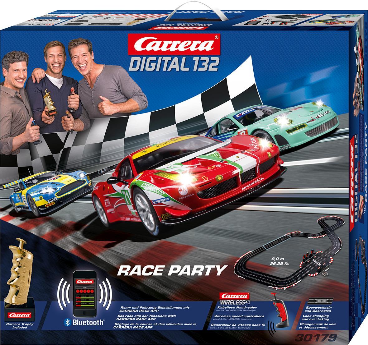 carrera digital 132 carrera race party toys. Black Bedroom Furniture Sets. Home Design Ideas