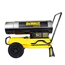 Dewalt Dxh185kt Kerosene Heater 185k Btu Outdoor Space