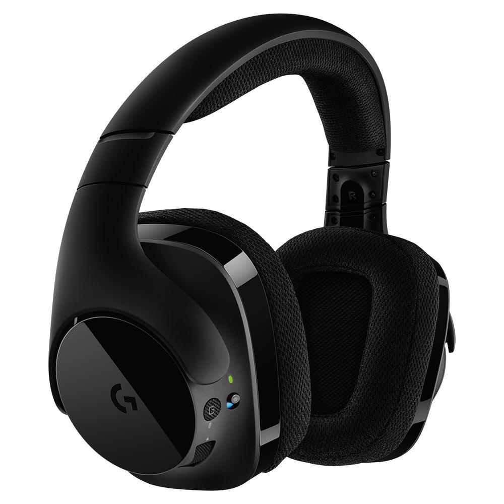 logitech g533 wireless dts 7 1 surround sound. Black Bedroom Furniture Sets. Home Design Ideas