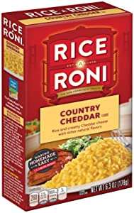Rice a roni country cheddar