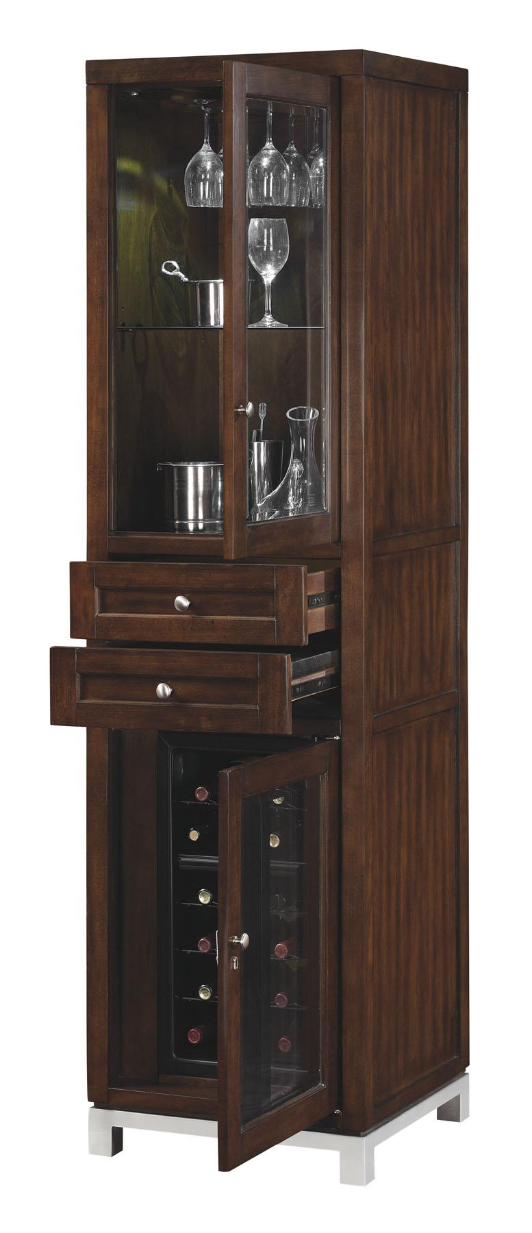 Amazon Com Wesleyan Pier With Wine Cabinet Right