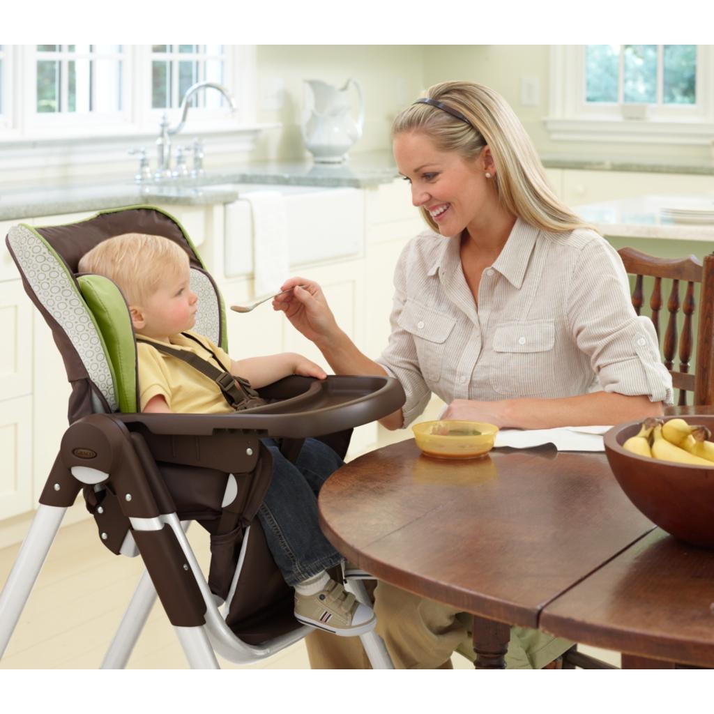 Amazon Com Graco Slim Spaces High Chair Manor Baby