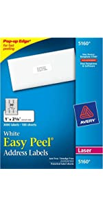 amazon com avery file folder labels for laser and ink jet printers