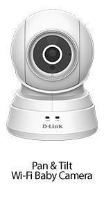 Pan & Tilt Wi-Fi Baby Camera