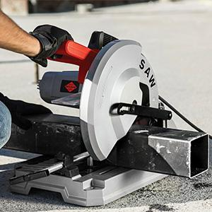 dry cut metal saw. designed with 4-1/2 in. cutting capacity the 12 dry cut saw can shapes and sizes typically by a 14 such as round pipe up to 4.5 metal