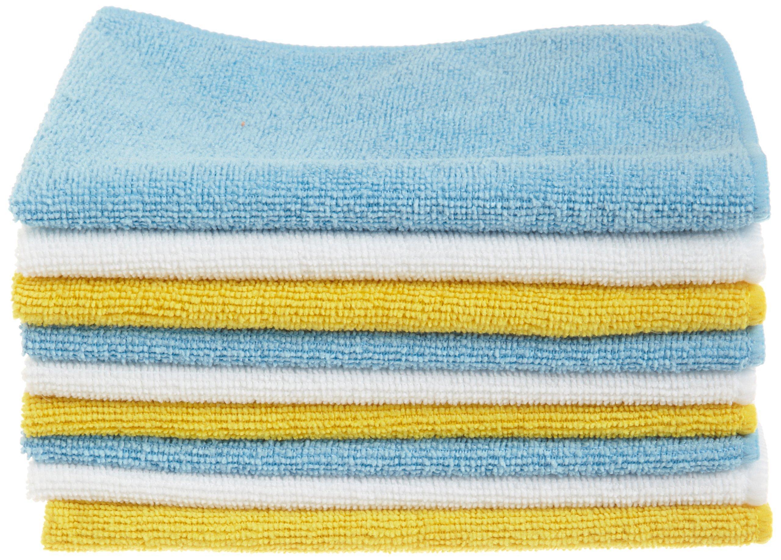 Amazon Com Amazonbasics Microfiber Cleaning Cloth 24
