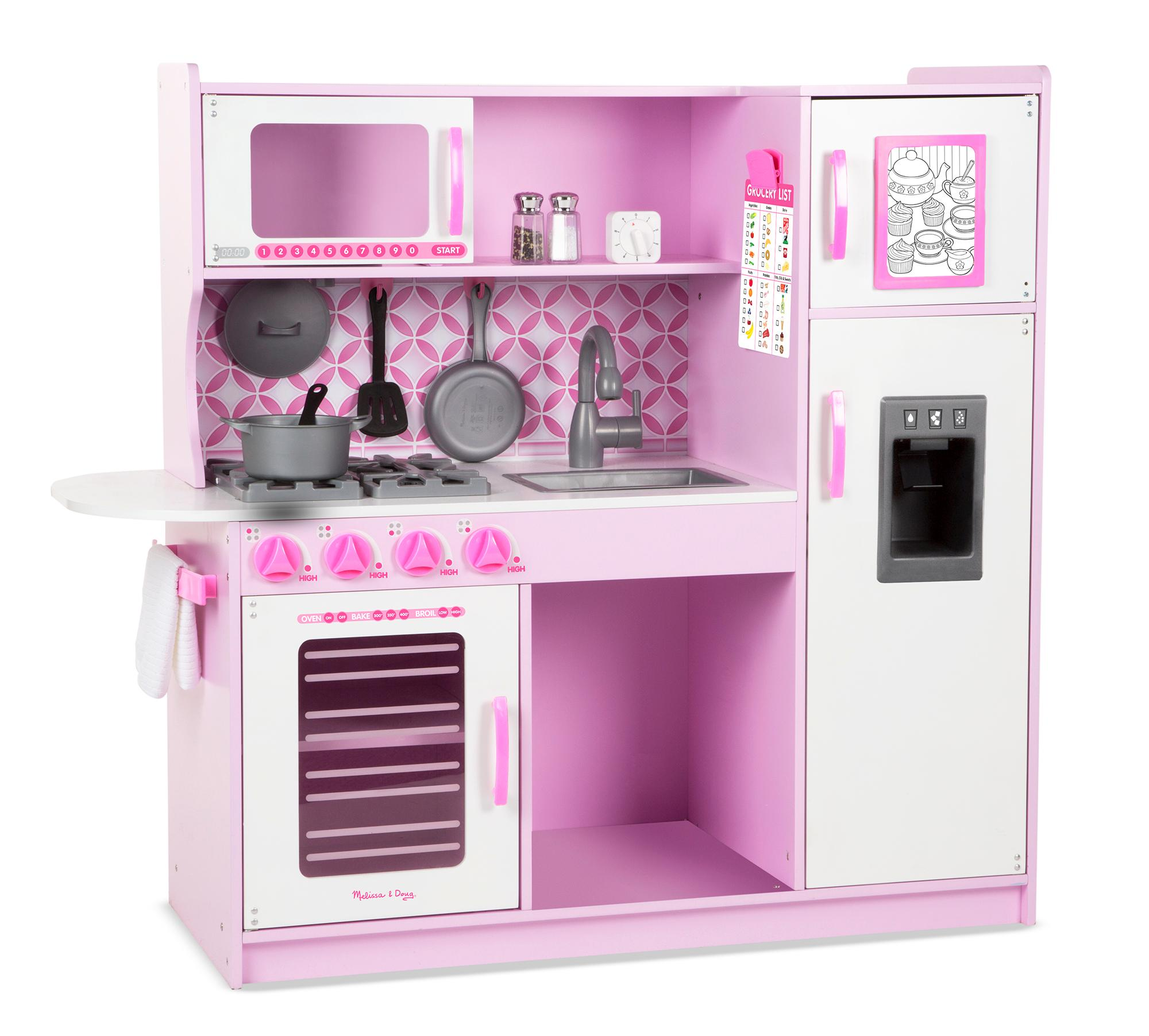 Amazon Com Melissa Amp Doug Chef S Kitchen Pretend Play Set