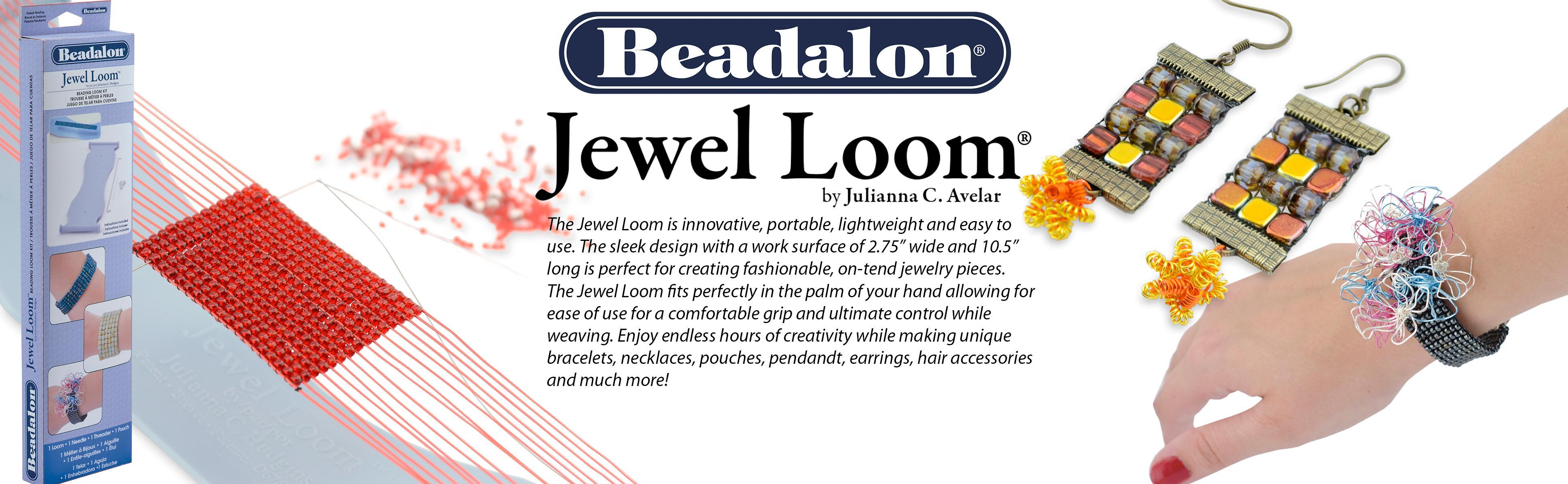 Amazon Com Beadalon Jewel Loom Kit Beading Loom Needle