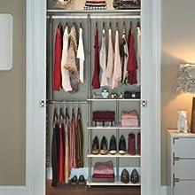 Lovely Closet Maximizer, Closetmaid, Closet Storage Space, Closet Organization,  Renters Closet, Wire
