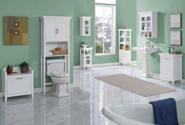 Amazon.com: Simpli Home Avington Two Door Wall Cabinet ...