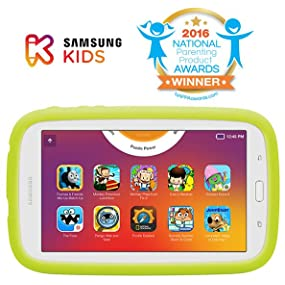 Samsung Tab E Lite 7.0 Kids Edition and 2016 National Parenting Product Award Winner