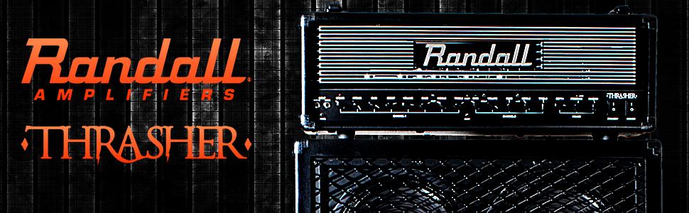 Randall THRASHER Guitar Amplifier Head, Thrasher
